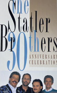 A 30th Anniversary Celebration [Box] by The Statler Brothers (1994, 3 CD)