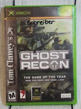 Tom Clancy's Ghost Recon Xbox 2003 Squad-Based Battlefield Combat