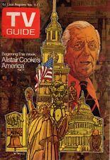 1972 TV Guide November 11 - John Wayne Part II; David Carradine; Patton; A Cooke