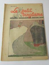 TINTIN HERGE LE PETIT VINGTIEME NO 17 1939 BON ETAT