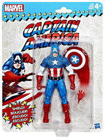 MARVEL LEGENDS VINTAGE WAVE CAPTAIN AMERICA ACTION FIGURE