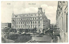 Russian Imperial Town View Polish Lodz Zielona Street PC 1913 Sent to Denmark