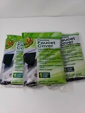 Duck Brand Insulated Soft Flexible Faucet Cover Easy To Install  Lot Of 3 NEW