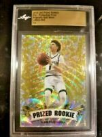 LaMelo Ball 2018 Leaf Metal PRIZED Prismatic WAVE GOLD Refractor ROOKIE 1/1