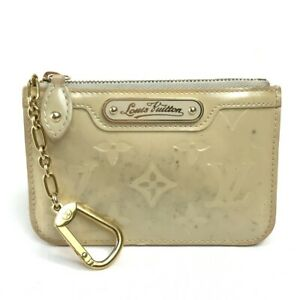 LOUIS VUITTON M91763 MonogramVernis Pochette Cles NM With chain with hook Case