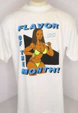 Vtg 90s Flavor Of The Month Naughty By Nature OPP HIV Awareness Parody Tee Sz XL