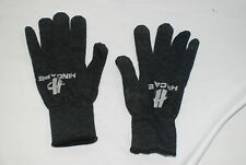 Hincapie Cycling Winter Gloves M/L Mens Grey w/ Gripper Logos Bicycle