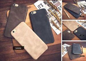 Genuine Original PU Leather Slim Case Cover For Apple iPhone 10 X 8 7 Plus 6s 5