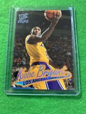 KOBE BRYANT PRIZM JERSEY #8 LAKERS ULTRA ROOKIE RC 96-97 FLEER BASKETBALL RC