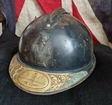 More details for ww1  french m1915 casque adrian helmet. engineers veteran