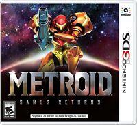 Metroid: Samus Returns [Nintendo 3DS, N3DS, NTSC, Side-Scroller, Action] NEW