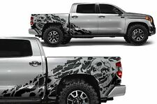 Vinyl Decal Nightmare Wrap Kit for Toyota Tundra TRD 14-17 Crew Cab Matte Black