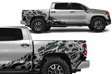 Vinyl Decal Nightmare Wrap Kit for Toyota Tundra TRD 14-17 Crew Cab Matte Black