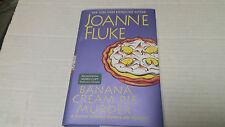 Banana Cream Pie Murder by Joanne Fluke (2017, Hardcover) SIGNED Barnes & Noble