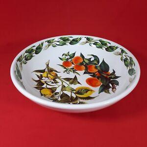 Beautiful Vintage Portmeirion Oranges and Lemons Large Serving Bowl