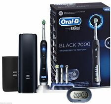 Oral-B IQ7000 Triumph Electric Toothbrush With SmartGuide-Black