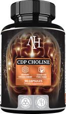 Apollo's CDP Choline Citicoline Cytidine Cognizin 90 Caps 300mg