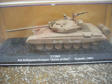 """DIE CAST TANK """"T-72M1 SALAH AL-DIN KUWAIT 1991  SCALA 1/72"""
