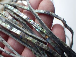 30 inch Length of Flexible Paua Abalone  Purfling Strip 3 mm width
