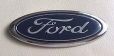 Blue 150mm Ford Oval Badge Emblem Front Rear Boot Mondeo Transit Focus Fusion