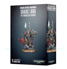 Chaos Space Marines Lord in Terminator Armour Games Workshop Warhammer 40k