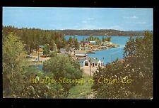 Nice Chrome Postcard Birdseye View of Crane Lake Village Crane Lake MN B2490