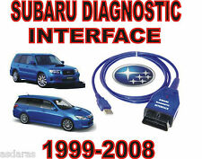 SUBARU DIAGNOSTIC USB INTERFACE 1999-2008 OBD2 IMPREZA LEGACY OUTBACK FORESTER