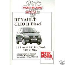 RENAULT clio ii, 1.5 dci / 1.9 dti diesel 2001-2006
