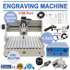 4 Assi CNC 3040 Router Engraver USB Macchina Per Incisioni Fresatrice 3D Cutter