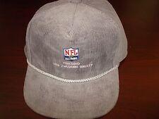 NFL ALUMNI CORUROY FRESNO SPORT  GOLF POLO  VINTAGE HAT CAP  STRAPBACK