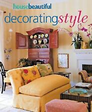 Decorating Style, House Beautiful by Carol Cooper Garey,  Paperback, used, 2004