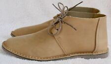 Clarks Erin Craft sand leather flat lace up ankle boots UK 5.5 EU 39 BNIB
