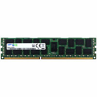 Samsung 16GB 2Rx4 PC3-14900R DDR3 1866MHz 1.5V ECC REG RDIMM Memory RAM 1x16G