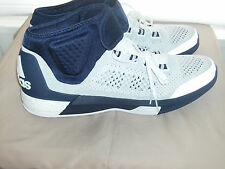 Adidas Men's Crazylight Boost Tech Fit Basketball Shoe White/Blue US 17 NEW