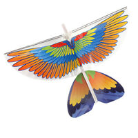 DIY Parrot Paper Airplane RC Plane Outdoor Fun Toy for Kids Children