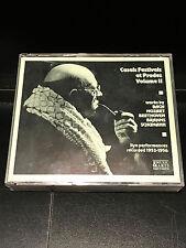 Casals Festivals At Prades Vol 2: 4 CD Set-VG Condition-Music & Arts Records