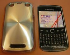 MyBat Hard Case BlackBerry Curve (9360) or (9350), plastic snap on, metal face