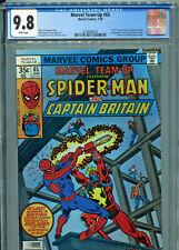 Marvel Team Up #65 (1978) CGC Graded 9.8 - Captain Britain