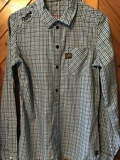 Authentic G Star Extra Small Men's long sleeve shirt preloved 100% cotton