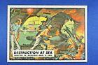 "1962 Topps Civil War News - #10 ""Destruction At Sea"" -  Ex++"