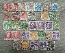 Danemark 1800's-1900's stamp collection . Used hinged