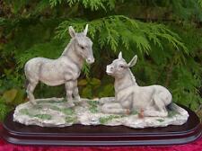 Pair of Donkeys Leonardo Collection Birthday Gift RARE