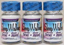 Sleep Walker Capsules 60 Pills (3 Bottles) Focus & Mood Optimizer Sleepwalker