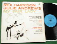 My Fair Lady Rex Harrison Julie Andrews Stanley Holloway CBS 70005 1958 LP