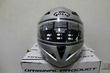 Casque Moduler Moto Airoh SV55 Silver taille M Scooter approuvé #svm5