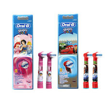 4pcs Braun Oral-B Kids Stages Electric Toothbrush Replacement Brush Heads EB10