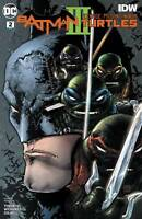 Batman Teenage Mutant Ninja Turtles III #2 IDW comic 1st Print 2019 Unread NM
