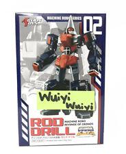Action Toys Machine Robo MR-02 Rod Drill Robo GoBots Go-Bot Revenge of Cronos