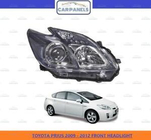 TOYOTA PRIUS FRONT HEADLIGHT HEADLAMP 2009 - 2012 RIGHT DRIVER SIDE O/S