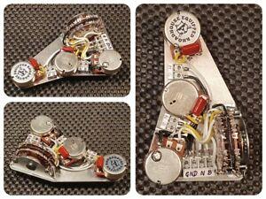 Fender Strat Stratocaster HH dual Humbucker wiring harness loom upgrade kit